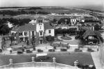 Vista del barrio y la playa hacia el este desde el Hotel Carrasco. Año 1921