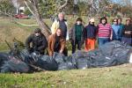Jornada de limpieza en el Parque Baroffio