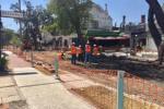 Empezaron las obras en Rostand