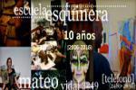 Afiche de difusión - 10 años Escuela Esquinera