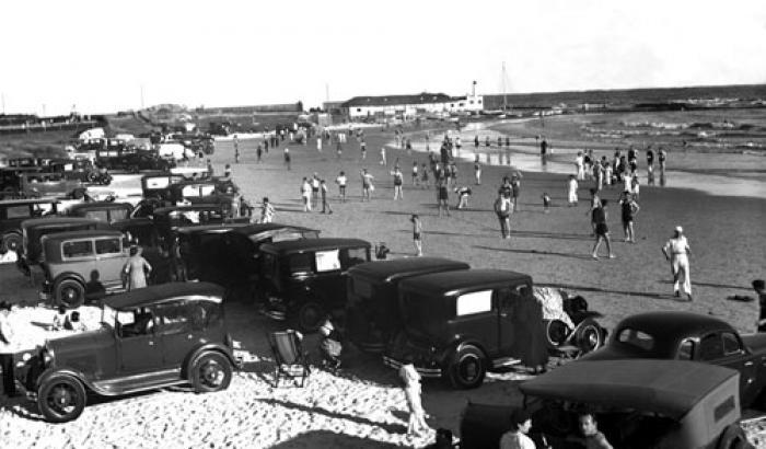 Playa Verde. Año 1936. (Foto 6633 FMH.CMDF.IMM.UY)