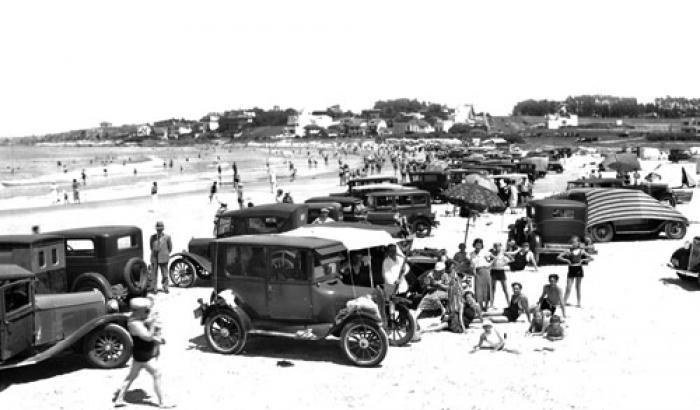 Playa Verde. Año 1936. (Foto 6634 FMH.CMDF.IMM.UY)