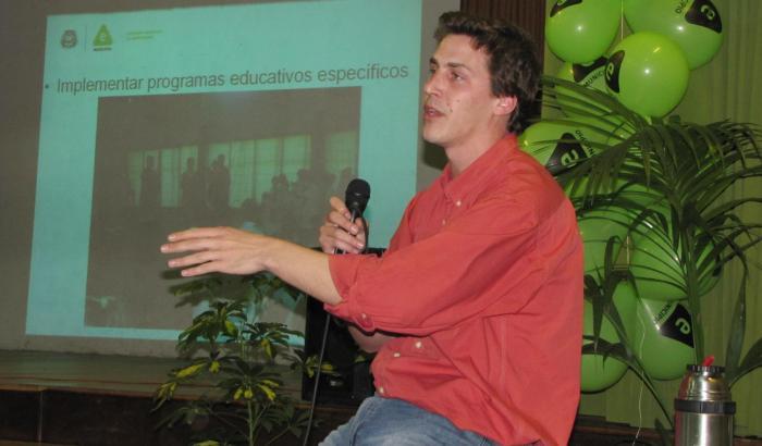 """Concejal Municipal Marcelo Caporale presenta la línea """"Calidad y Sustentabilidad"""