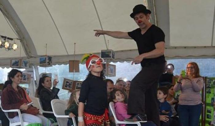 Taller de circo en los 120 años de Malvín