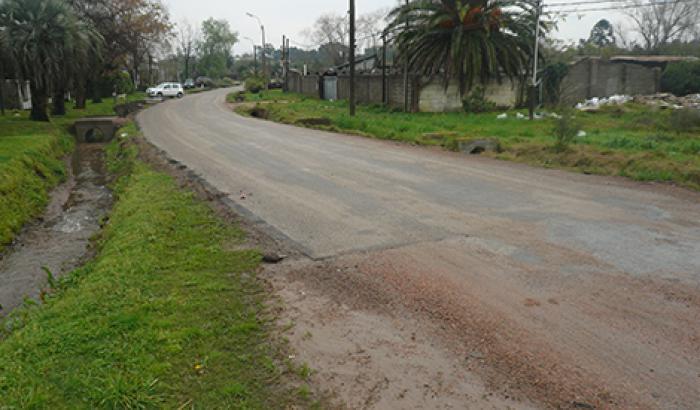 Obras en la calle Musso - proceso