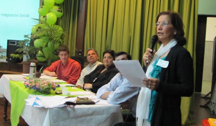 """Concajela Municipal María Elena Godoy presenta la línea """"Vivienda e integración"""