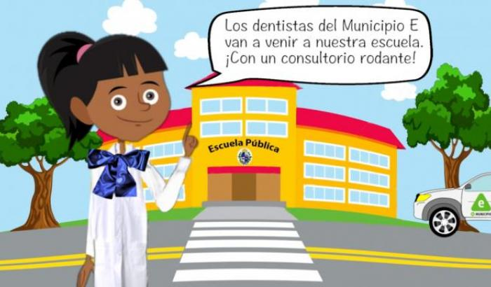 Consultorio odontológico móvil para escuelas del Municipio E
