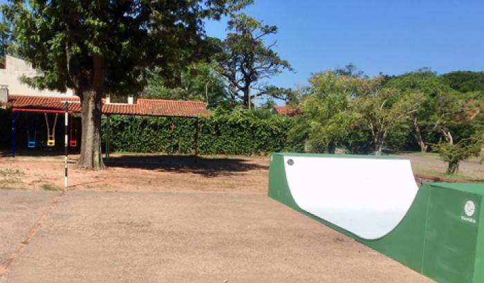 Nueva rampa de skate