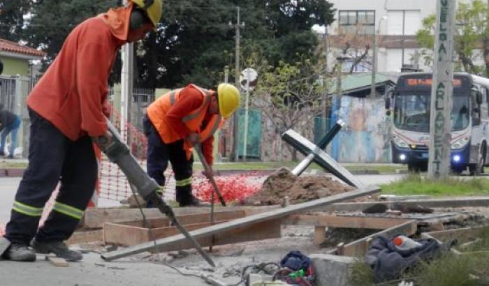 Estamos construyendo rampas de accesibilidad en Malvín