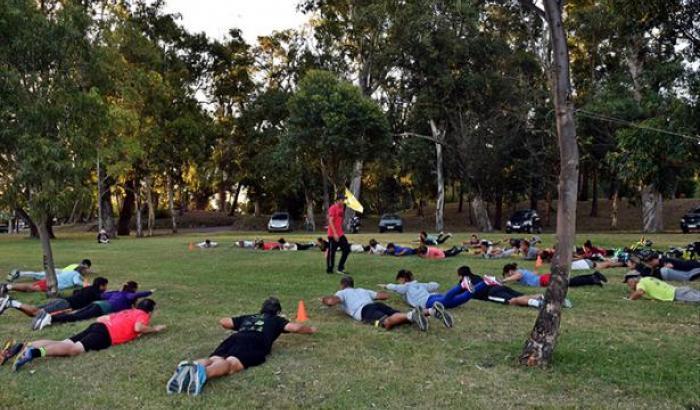 Running y entrenamiento funcional en el Parque Rivera