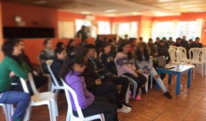 Taller para los centros juveniles El Propio, L`Amistad y El Molino.