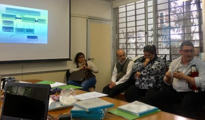 Taller con integrantes del Municipio y las direcciones de sus CCZ