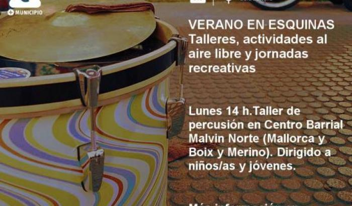 Percusión - Centro Barrial Malvín Norte