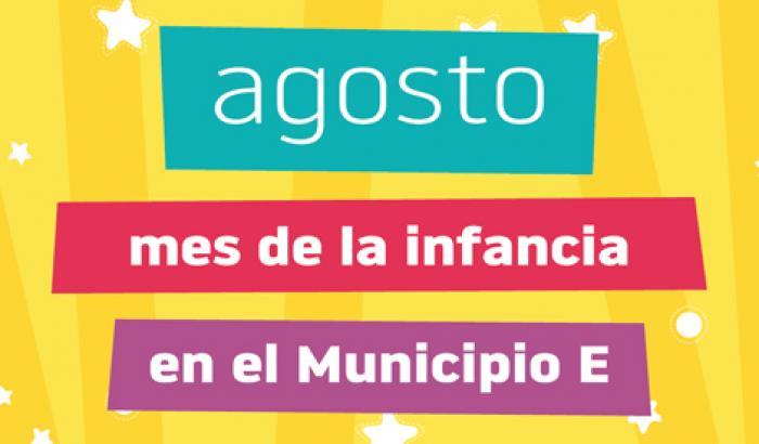 Agosto: mes de la infancia en el Municipio E.