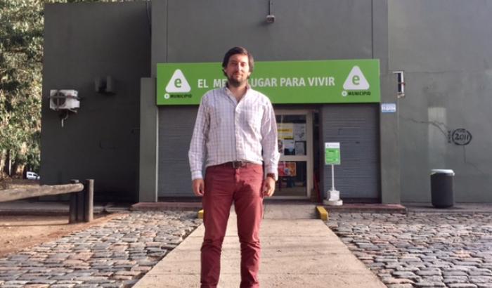 Agustín Lescano, Alcalde interino del Municipio E