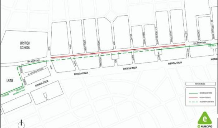 Proyecto completo ciclovía Máximo Tajes