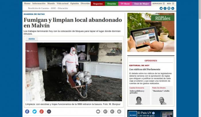 Limpieza local - El País