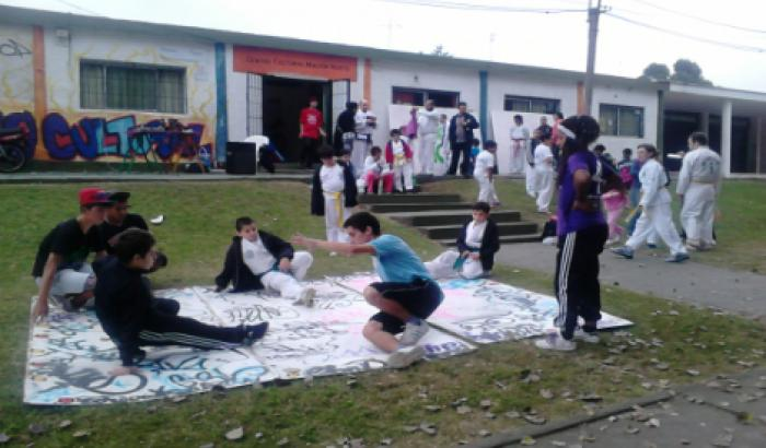 Hip - Hop en el Centro Cultural Malvín Norte