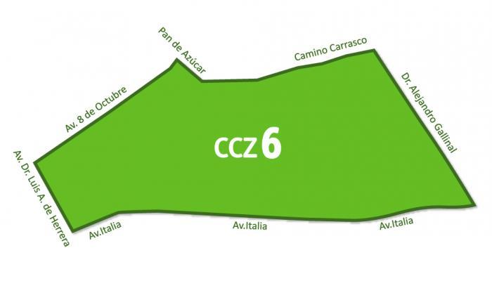 Mapa CCZ 6