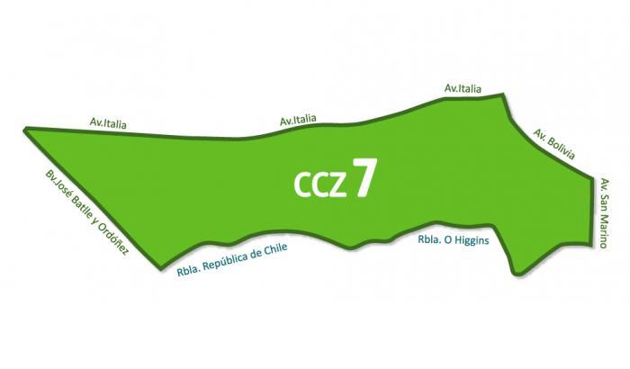 Mapa CCZ 7