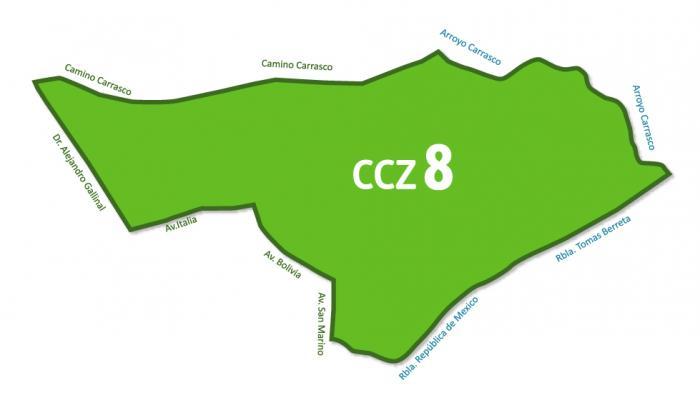 Mapa CCZ 8