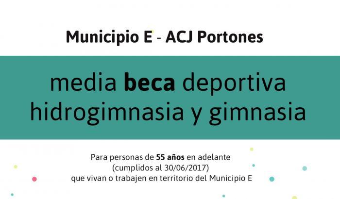 Media beca en ACJ Portones