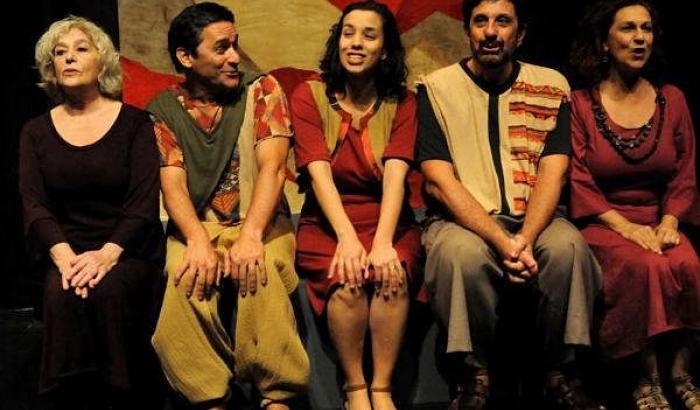 Mujeres de Galeano (foto obtenida en la web del Teatro Circular)