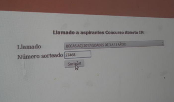 Sorteo ACJ 2017
