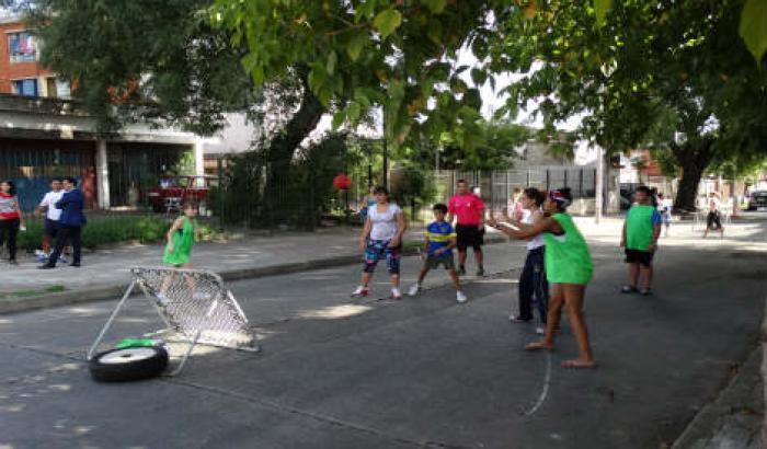 Tchoukball - Actividad deportes en la calle (Molino del Galgo)