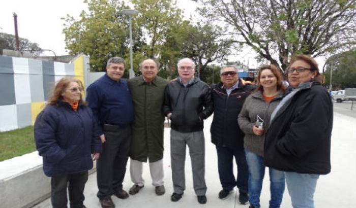 Alcalde Francisco Platero junto a Concejales Vecinales de la zona 6