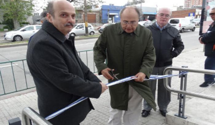 Inauguración obras en Plaza Cabrera