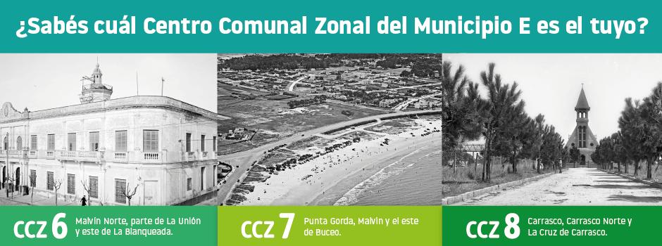 Centros Comunales Zonales del Municipio E
